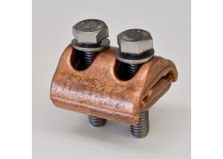 Copper Parallel Grove Clamp
